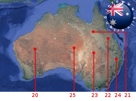 Basi aliene Australia