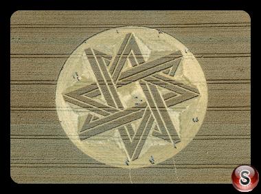 Crop circles - Fürstenfeldbruck Bavaria 2015
