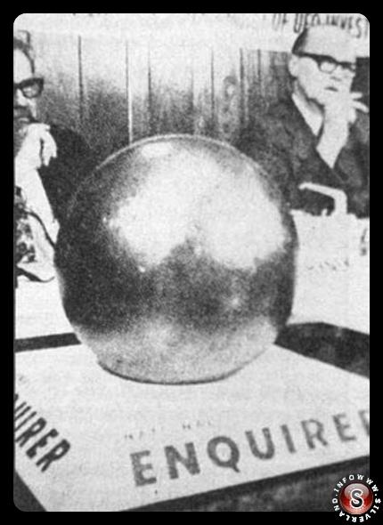 La misteriosa sfera
