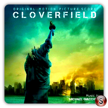 Cloverfield Soundtrack Cover CD