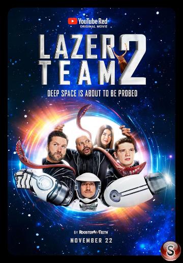 Lazer team 2 - Locandina - Poster