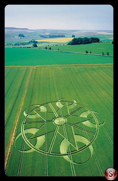 Crop circles - Beckhampton, Wiltshire  2003