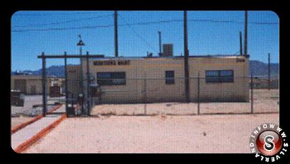 Rarissima foto, inviata da Ryan Wood all'autore del presente articolo, dell'edificio 21( attualmente denominato edificio750 )  della base di Kirkland