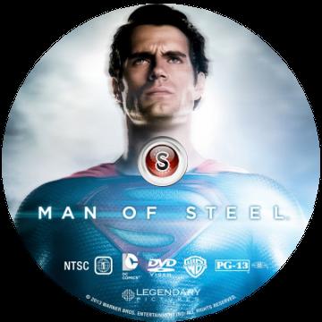 L'uomo d'acciaio - Man of steel  Cover DVD