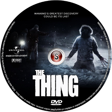 The thing Cover DVD