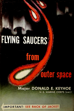Flyng saucers from outer space by Donald E. Keyhoe
