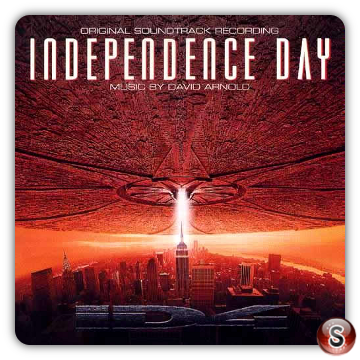Independence day Soundtracks Cover CD