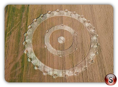 Crop circles - Grosseto Italy 2011