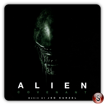 Alien Covenant Soundtracks Cover CD