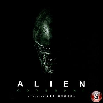 Alien Covenant Soundtrack Cover CD