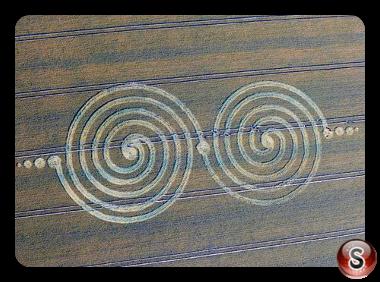 Crop circles - Windmill Hill Wiltshire UK 2011