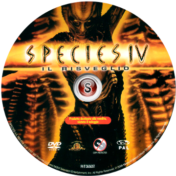 Species 4 Cover DVD