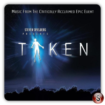 Taken Soundtracks Cover CD