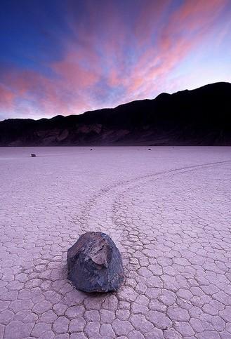 The stones of Racetrack Playa