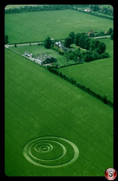 Crop circles - Penton Grafton, Hampshire 1999