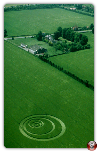 Crop circles - Penton Grafton Hampshire 1999