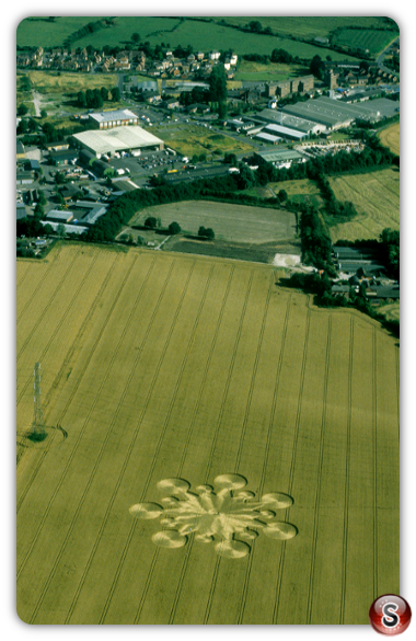 Crop circles - Roundway Wiltshire 1999