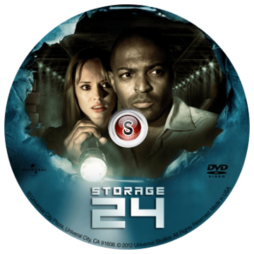 Storage 24 Cover DVD