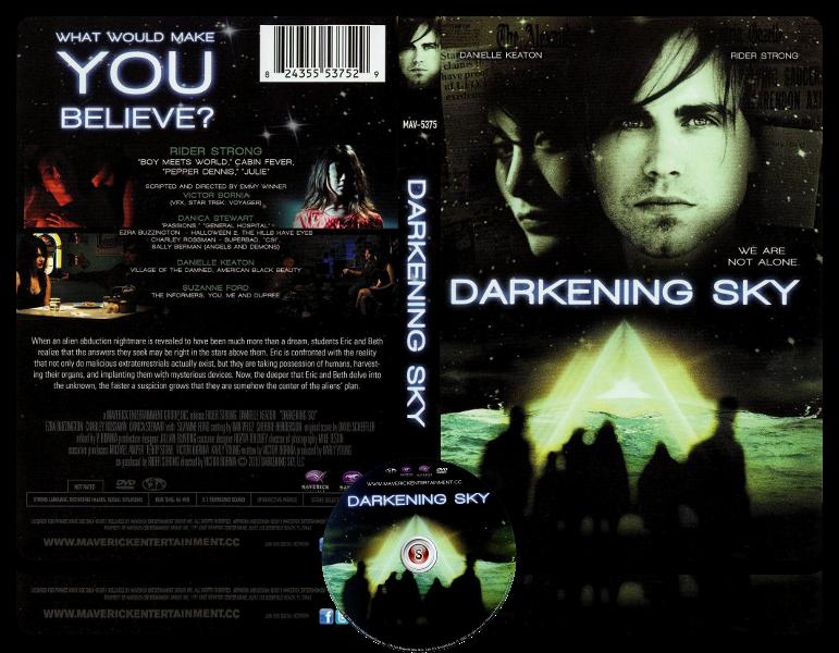 Darkening Sky  - Copertina DVD + CD