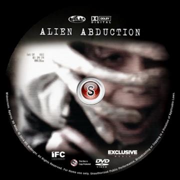 Alien abduction Cover DVD