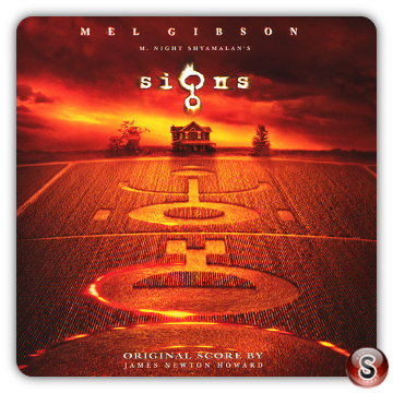 Signs Soundtrack Cover CD