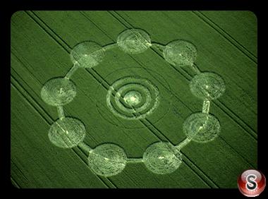 Crop circles - Avebury Down Wiltshire 2001