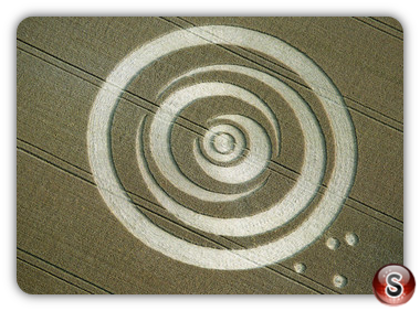 Crop circles - East Meon, Hampshire 1995