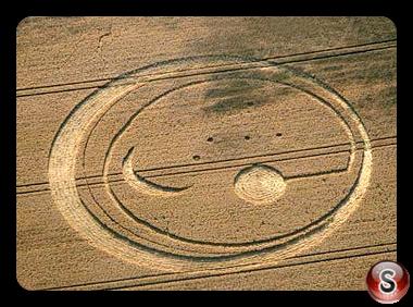 Crop circles - Dransfeld  Niedersachsen Germany 2008