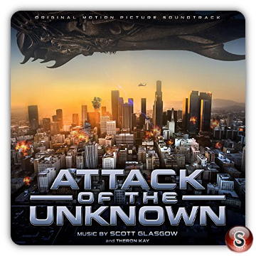 Attack of the unknown Soundtrack Cover CD