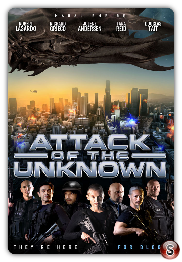 Attack of the unknown - Locandina - poster
