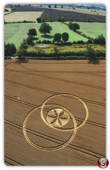 Crop circles - Toot Balden, Oxfordshire 2006