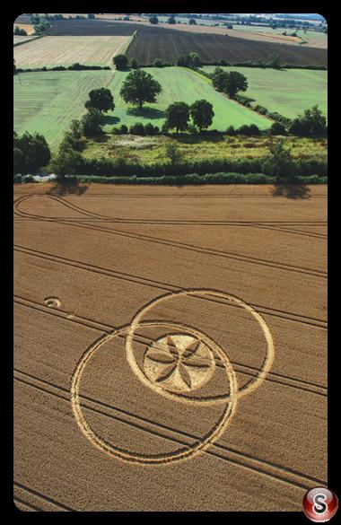Crop circles - Toot Balden, Oxfordshire 2006