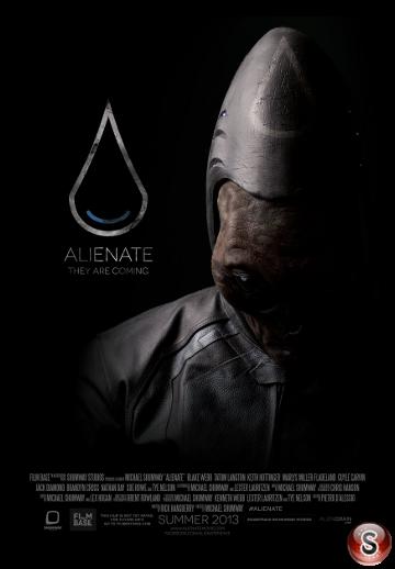 Alienate - Locandina - Poster
