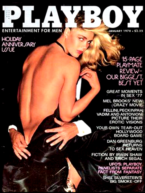 Cover of Playboy from January 1978.