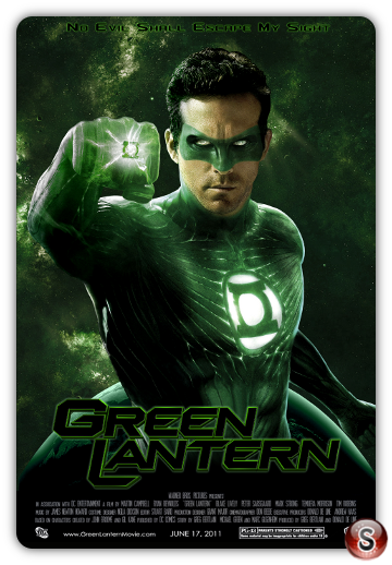 Green lantern - Lanterna verde - Locandina - Poster