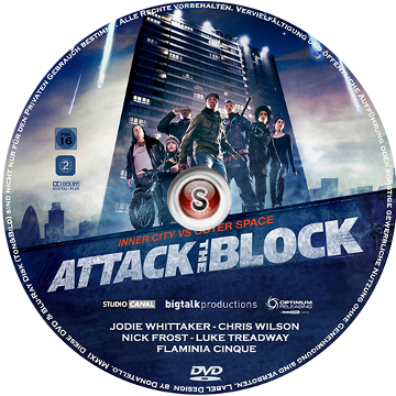 Attack the block Cover DVD