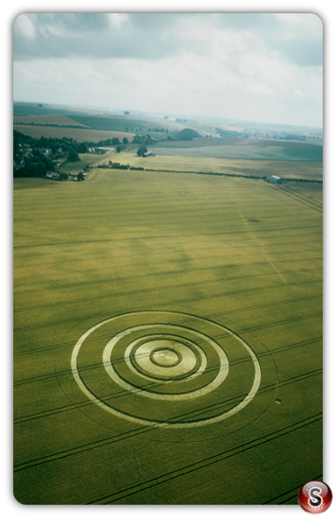 Crop circles - Beckhampton  Wiltshire 2003
