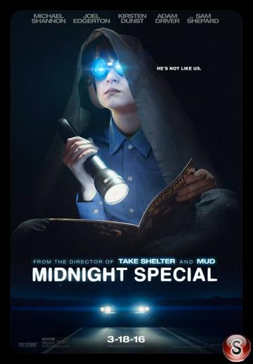 Midnight special - Locandina - Poster