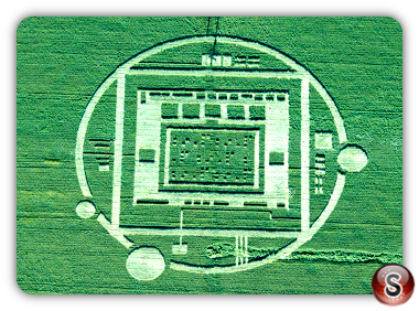 Crop circles Salinas Valley California Usa 2013