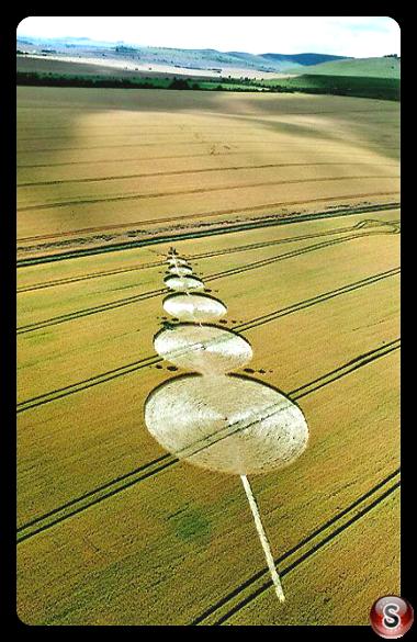 Crop circles - Alton Barnes Wiltshire 2005