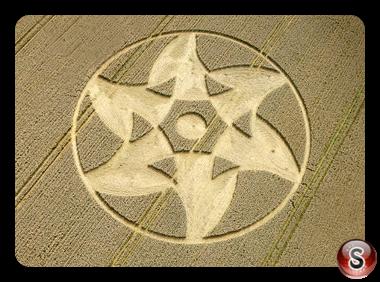 Crop circles - Beckhampton Wiltshire UK 2011
