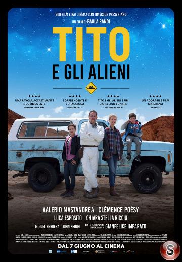 Tito e gli alieni - Locandina - Poster