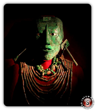 La maschera di Pakal - The mask of Pakal