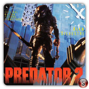 Predator 2 Soundtracks Cover CD