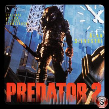 Predator 2 Soundtrack Cover CD