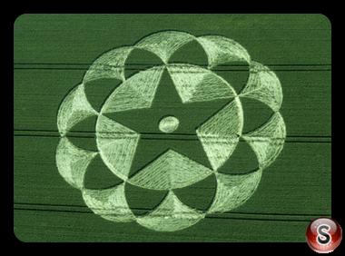 Crop circles - Avebury Trusloe Wiltshire 1998