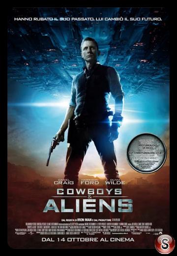 Cowboys & Aliens - Locandina - Poster