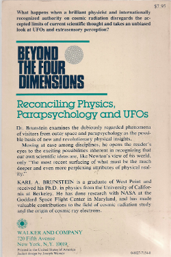 Beyond the Four Dimensions by Karl Brunstein - Retro