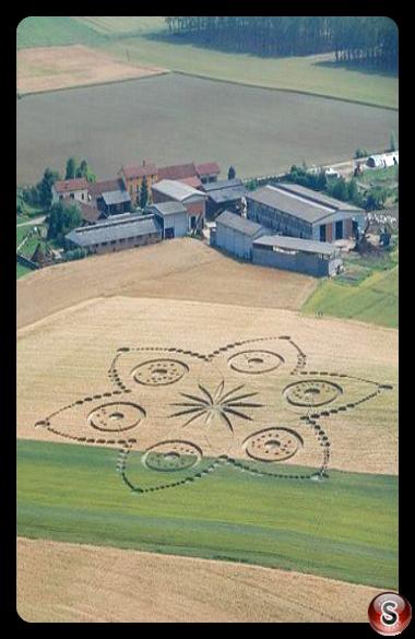 Crop circles - Poirino (TO ) Piemonte 2010