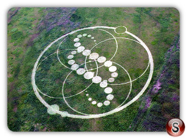 Crop circles - South Korea 2008